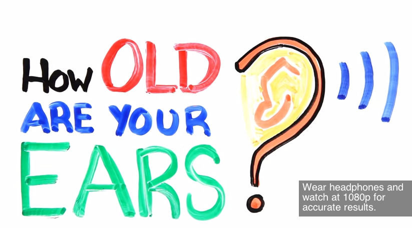 How old are your ears? Take this hearing test