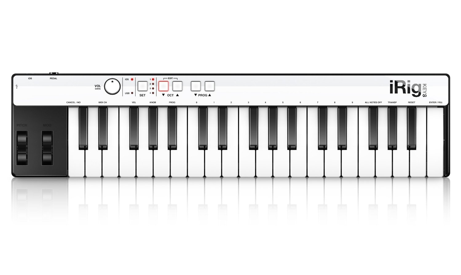 ik multimedia midi keyboard
